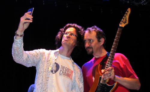 """Avec Pierre Journel de """"La chaîne Guitare"""""""